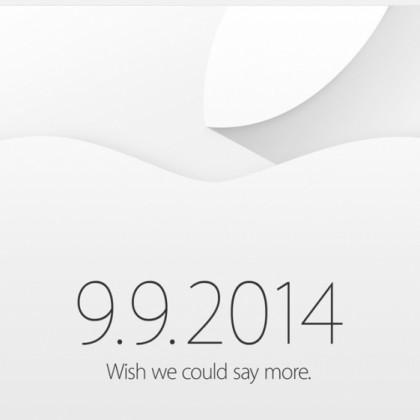 Evento Apple 9 9 2014