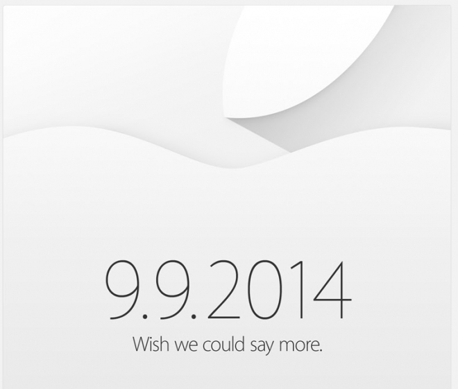 Evento Apple 9 9 2014