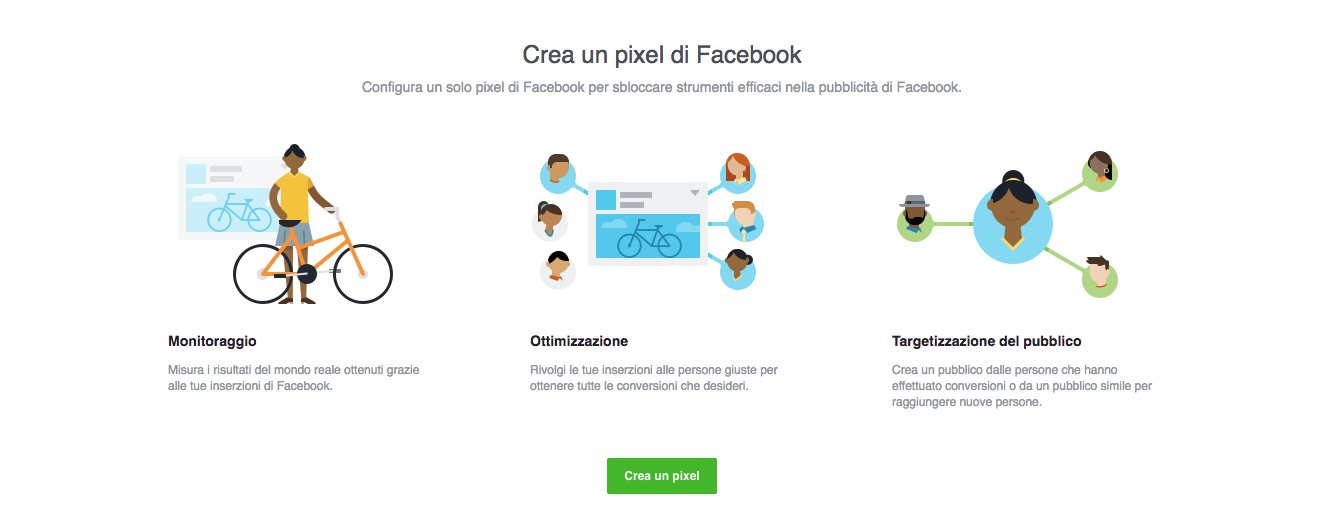pixel monitoraggio facebook web marketing torino