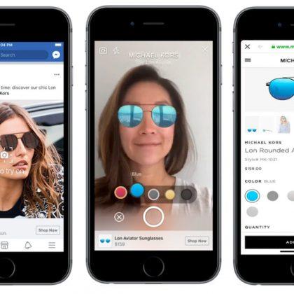 La nuova frontiera per Facebook Marketing: la pubblicità in realtà aumentata
