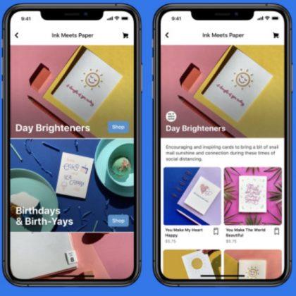 Facebook Shops: arriva il negozio online a misura di ogni azienda